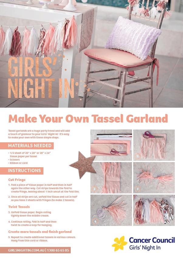 GNI - How To Create Tassels