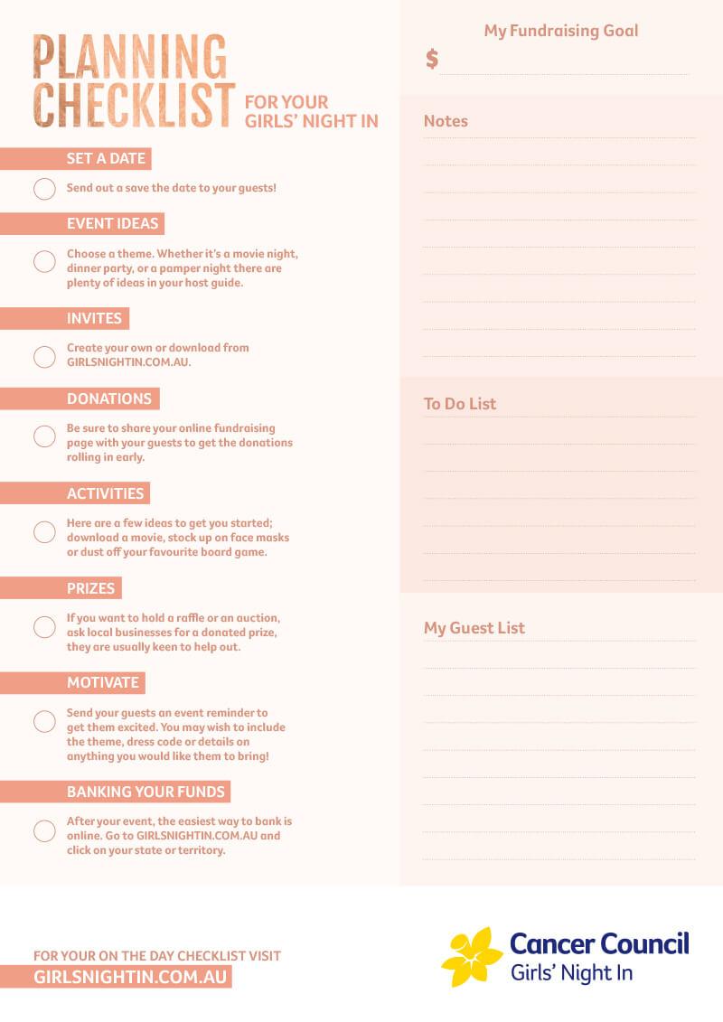 GNI Checklist