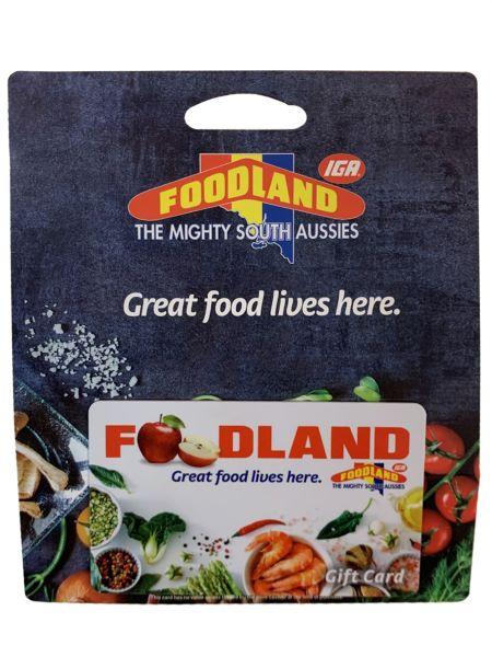 Foodland giftcard image