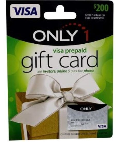 Visa giftcard image